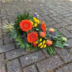 Delivery of funeral flowers in Sainte-Thérèse